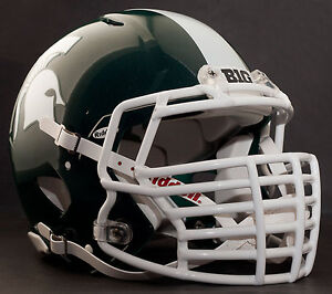 Details About Michigan State Spartans Mini Football Helmet Nameplate Big Decal Sticker