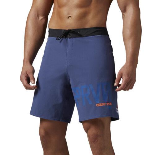 Mens Training Shorts Reebok CrossFit Super Nasty Hero TC Workout Gym Wicking