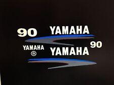 Yamaha 75/80/90hp Outboard Decal Sticker Kit Marine vinyl