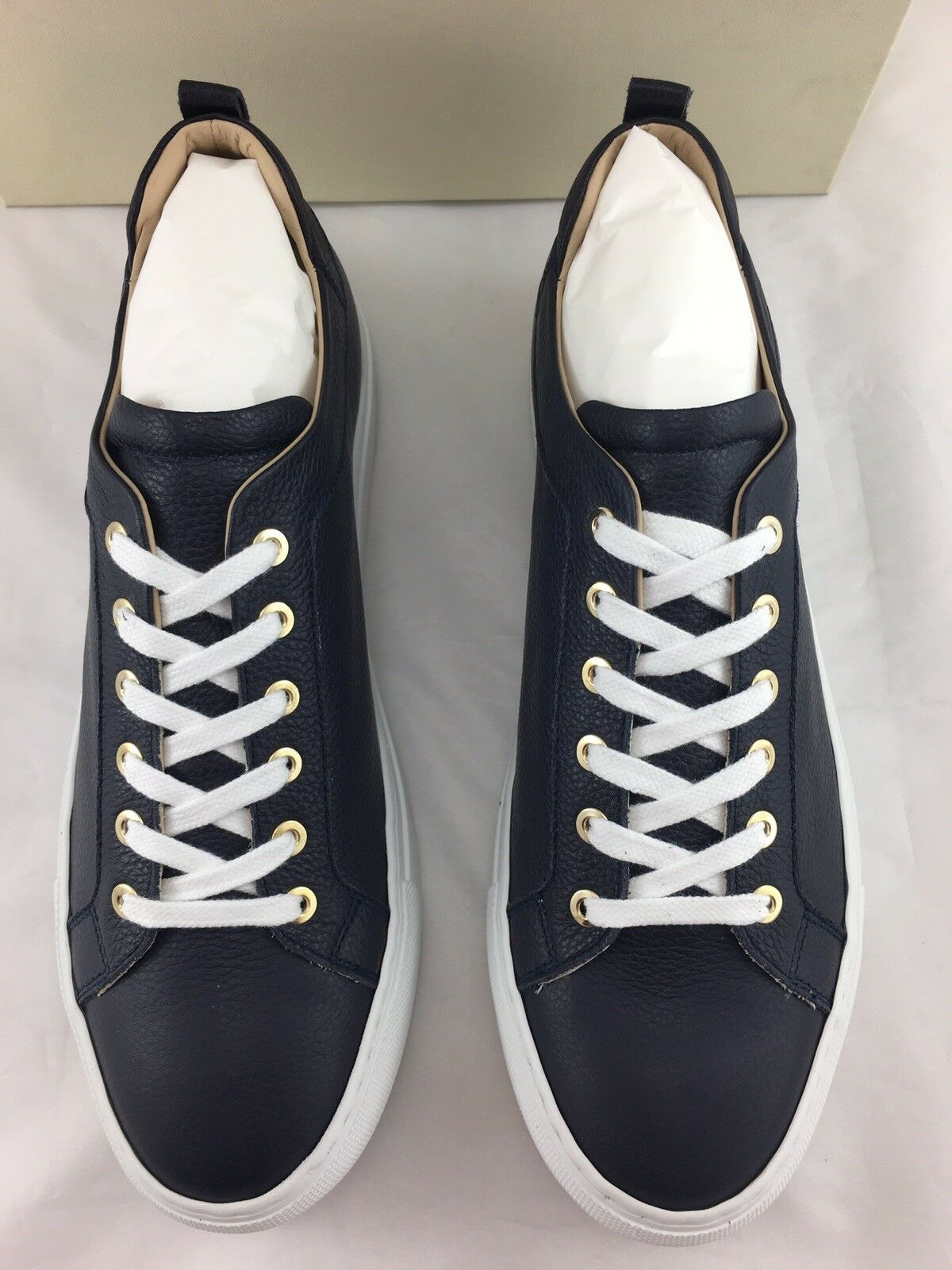 M. GEMI The The The Palestra Womens Sneaker 42 EU   11 US Navy Tumbled Italian Leather df1d6f