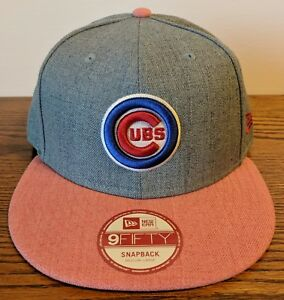 d423be89cff Image is loading CHICAGO-CUBS-Heather-Action-Bullseye-Logo-New-Era-