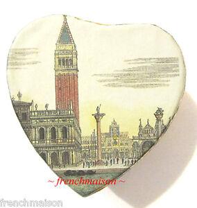 ITALIAN-Venetian-SAN-MARCO-HANDMADE-PAPER-Small-Box-Heart-Jewelry-GIFT-New