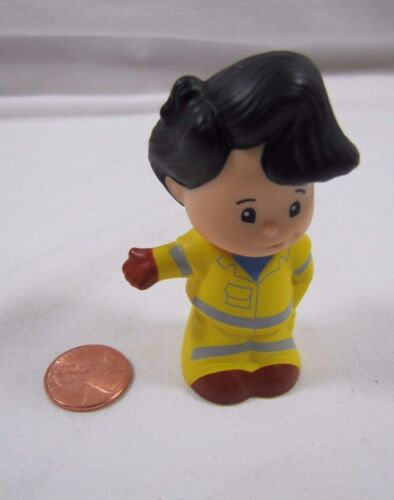 Fisher Price Little People KOBY BOY Black Hair VILLAGE TOWN AUTO MECHANIC DRIVER