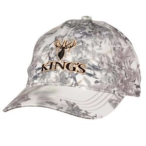King-039-s-Camo-Hunter-Series-Embroidered-Hat-Snow-Shadow