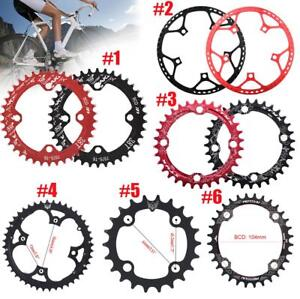 MTB-Bike-Narrow-Wide-Round-Oval-Chainring-Ring-104-130mm-22-32-34-36-38-44-53T