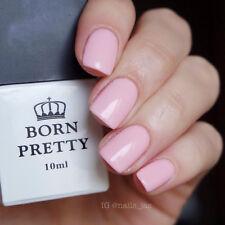 10ml Soak Off One-step UV Gel Polish Pink Nail Art Varnish 6007# Born Pretty