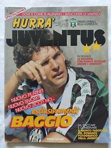 HURRA-039-JUVENTUS-N-11-1990-ROBERTO-BAGGIO-FASCICOLO