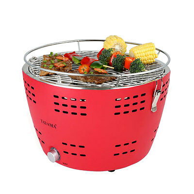 """Barbecues, Grills & Smokers Ambitious Tayama 13.5"""" Portable Charcoal Grill In Red Model Built-in Coal Chimney Tyq-001 Yard, Garden & Outdoor Living"""