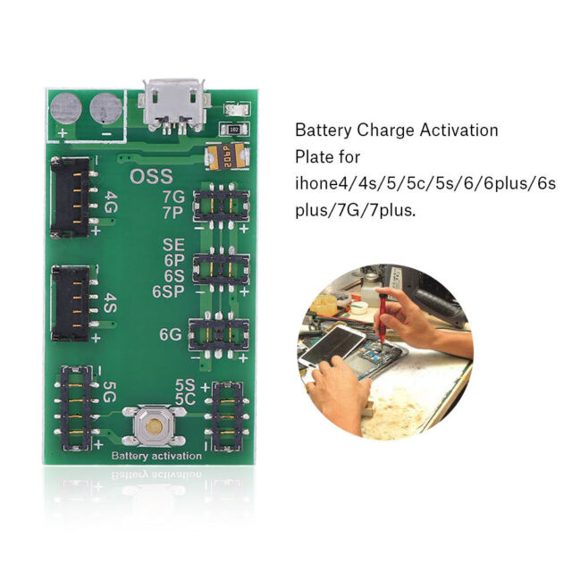 Fast Battery Charger Circuit Board Activation Tester for iPhone 5 6 6s 7  Plus GL