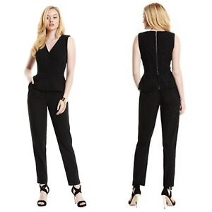 96acc4555d Image is loading NWT-GUESS-BY-MARCIANO-BLACK-Amelie-Jumpsuit-SIZE-