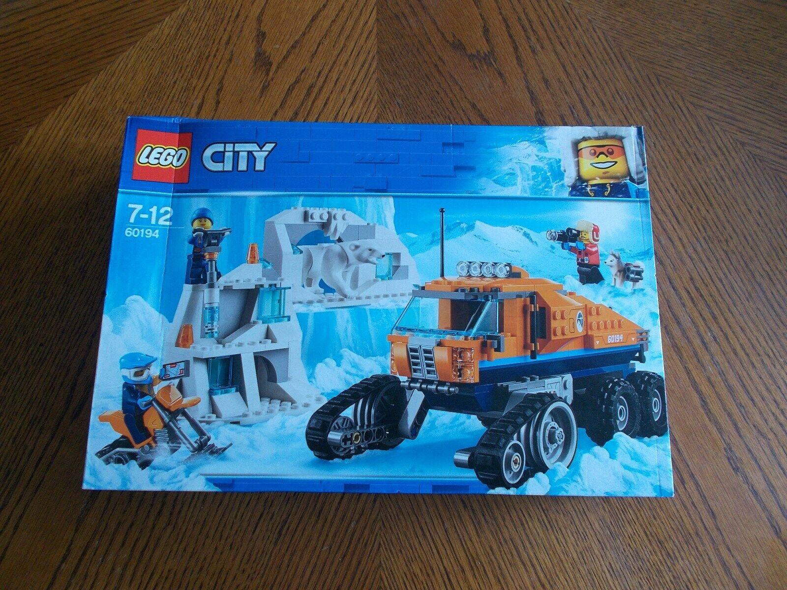 LEGO CTY ARCTIC  Scout Camion Set 60194 Nuovo Sigillato in Confezione  vendite dirette della fabbrica