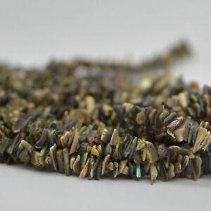16-034-Grade-A-Natural-Abalone-Semi-precious-Gemstone-Chips-Nuggets-5mm-8mm