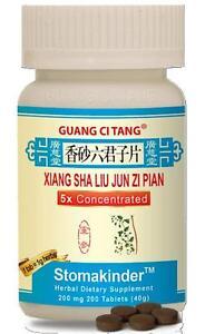 Guang-Ci-Tang-Xiang-Sha-Liu-Jun-Zi-Pian-Stomakinder-200-mg-200-ct