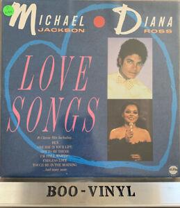 Michael-Jackson-amp-Diana-Ross-Love-Songs-Vinyl-Record-LP-Album-STAR-2298-Ex