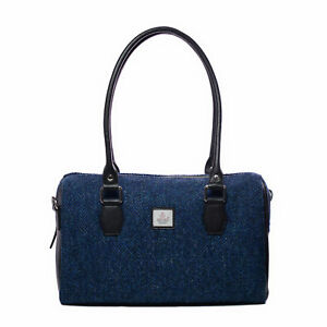 Tweed Harris WTags Bowling Bag Blue Maccessori New stQhdCxr