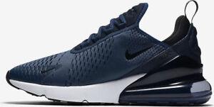 05f446a2dd74 Mens Nike AIR MAX 270 Running Shoes -Midnight Navy -AH8050 400 -Sz ...