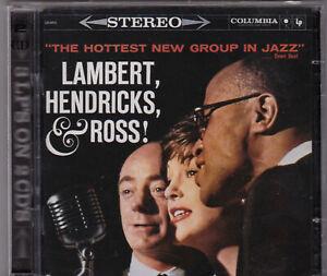 THE-HOTTEST-NEW-GROUP-IN-JAZZ-LAMBERT-HENDRICKS-and-ROSS-2-CD-COLUMBIA