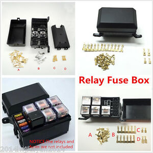 s l300 auto car fuse relay holder box relay socket 6 relay 5 road the Automotive Relay Box at panicattacktreatment.co