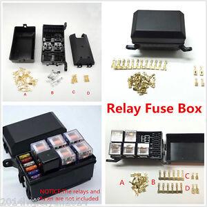 s l300 auto car fuse relay holder box relay socket 6 relay 5 road the Automotive Relay Box at eliteediting.co