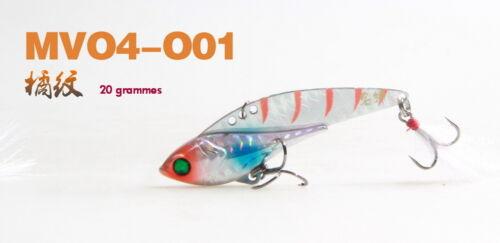 """2 tailles FISH HUNTER LEURRE BLADE /""""VIBRATIN/"""""""