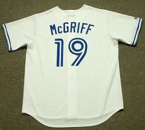 sale retailer 17b22 021e1 Details about FRED McGRIFF Toronto Blue Jays 1990 Majestic Cooperstown Home  Baseball Jersey