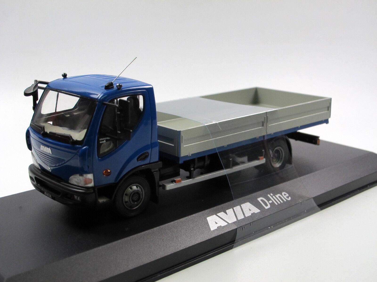 Foxtoys foxt003 - 2012 AVIA D-line d120-210 d120-210 d120-210 euro 5 camastro azul - 1 43 OVP c87c92