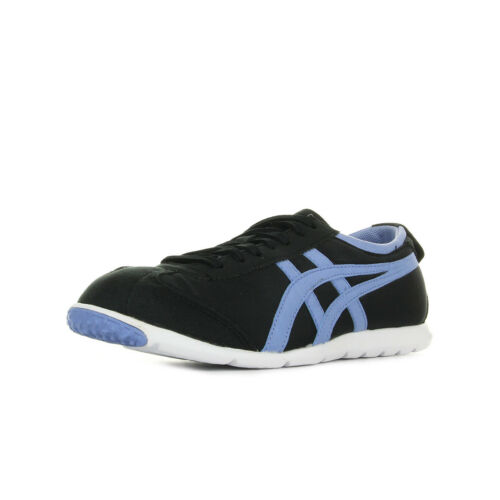 Noir Chaussures Tiger Onitsuka Textile Baskets Rio Taille Noire Runner Femme aw7qPaBxf