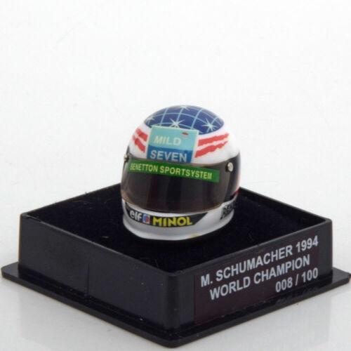 1:12 JF Creations Benetton helmet World Champion Schumacher 1994