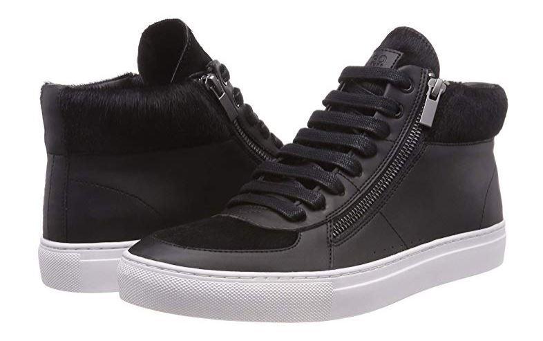 Hugo Boss men's Futurism Hito men's high-top sneakers size 5UK(39EU)
