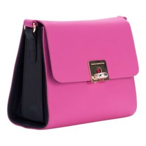 3df9010c0 Image is loading French-Connection-Harriet-Cross-body-Bag-Fuchsia-Black-