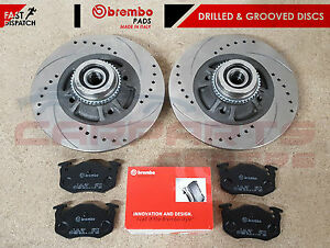 FOR-RENAULT-CLIO-SPORT-172-182-2-0-REAR-BRAKE-DISCS-BREMBO-PADS-ABS-BEARINGS