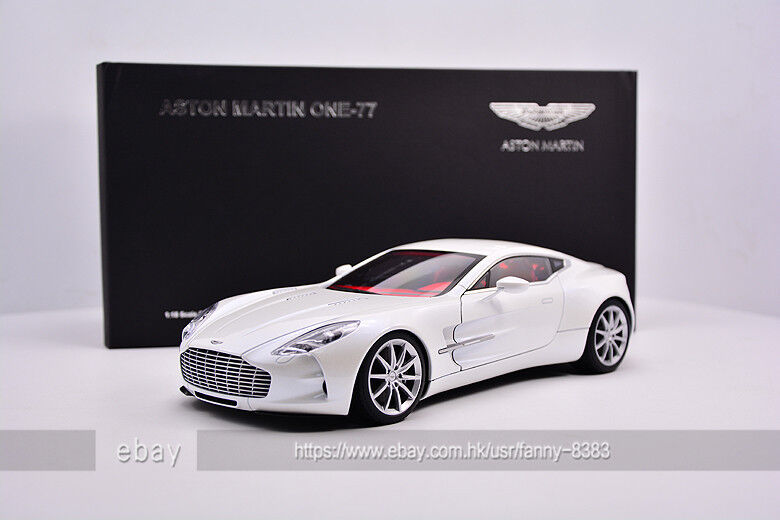 Autoart 1 18 ASTON MARTIN ONE-77 White
