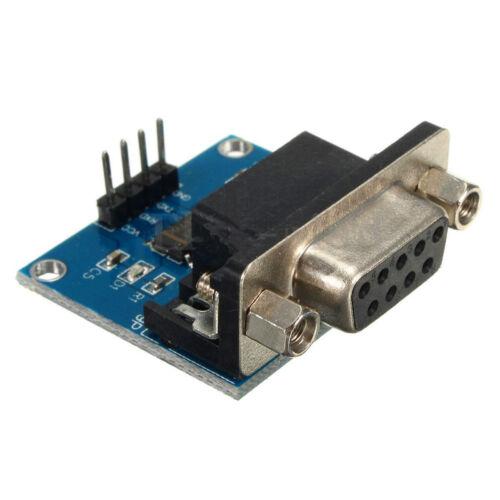 RS232 To TTL Konverter Modul Serielles Modul DB9 Stecker 3.3V-5.5V  YR