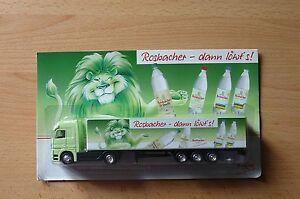 Modellino-autocarro-per-birra-Rimorchio-trasporto-BENZ-ACTROS-rosbacher-HS-17