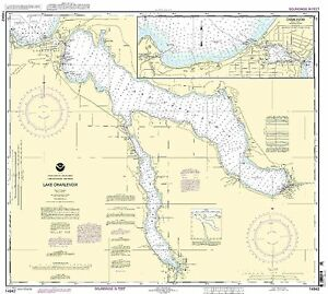 NOAA Chart Lake Charlevoix;Charlevoix, South Point to Round Lake 26th Edition