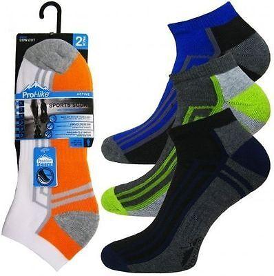 12 Prs Mens Trainer Socks Sports Work Ankle Cushioned Sole Heel Toe Size 6 - 11 Warm Und Winddicht