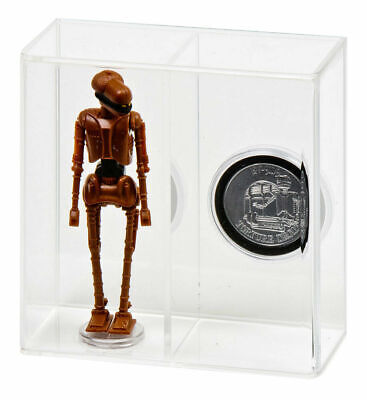 "1 x GW Acrylic Display Case Boxed 6/"" Star Wars Black Series AVC-001"