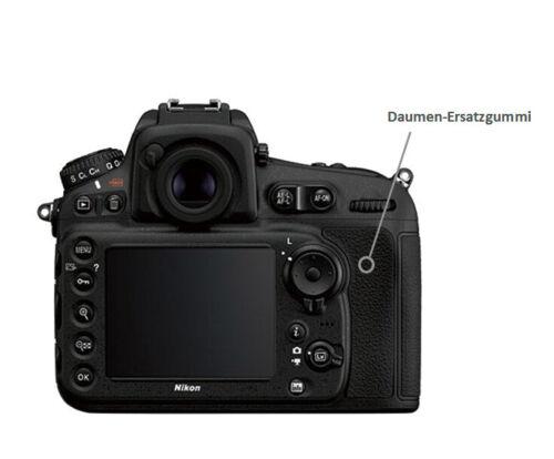 Recambio de goma Nikon d810 pulgar puerto cubierta reparación pieza de repuesto lc8092