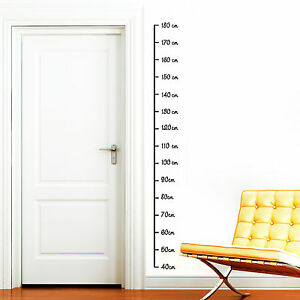 12252 wandtattoo messlatte 180 ma band ma gr e kinderzimmer sticker aufkleber ebay. Black Bedroom Furniture Sets. Home Design Ideas