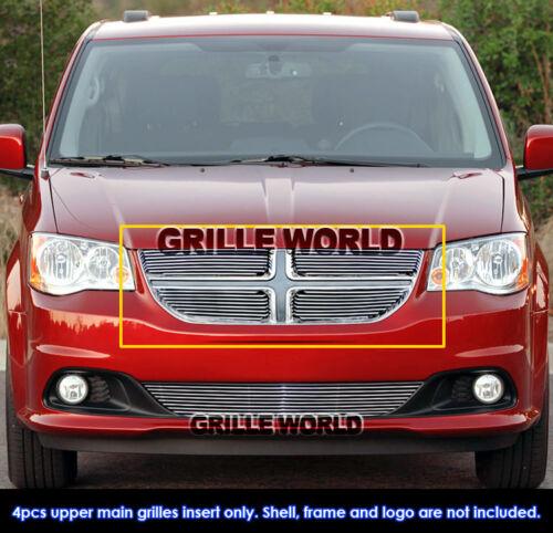 Fits 2011-2019 Dodge Grand Caravan Main Upper Billet Grille Insert