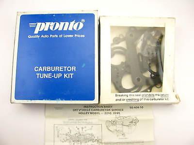 HOLLEY 2210-2245 CARBURETOR KIT 1967-1974 CHEVY GMC TRUCK 327-350-396-400 ENGINE