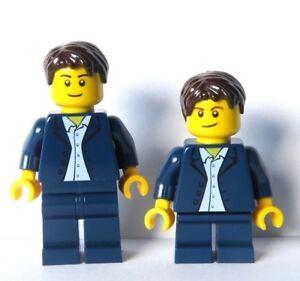 Lego Groom Minifigure Black Suit Top Hat Cake Topper Wedding Best Man Usher