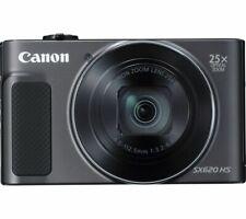CANON PowerShot SX620 HS Superzoom Compact Camera - Black - Currys
