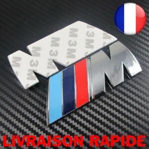 Logo-M-BMW-Coffre-Ailles-82mm-X-28mm-Neuf-Sous-Blister-Motorsport-M-M3-M5-Auto