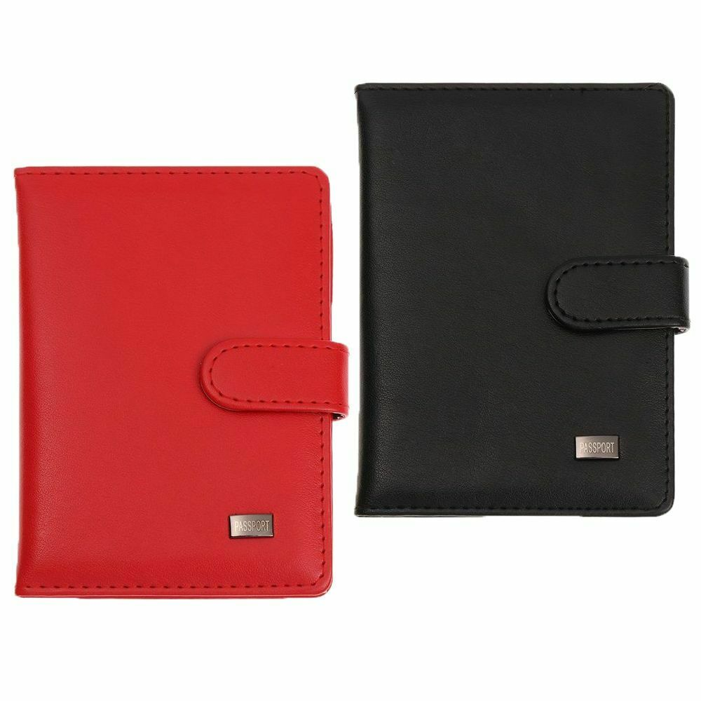 Case PU Leather CDC Vaccination Health Card Certificate Protective Cover