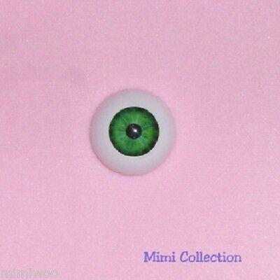 Super Dollfie Luts Pullip SD 1/3 bjd Doll Acrylic Plastic Eye 22mm Dark Green