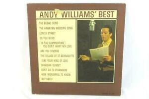 Andy-Williams-Best-LP-Cadence-CLP-3054-Mono-Record-33RPM-Vintage-Vinyl