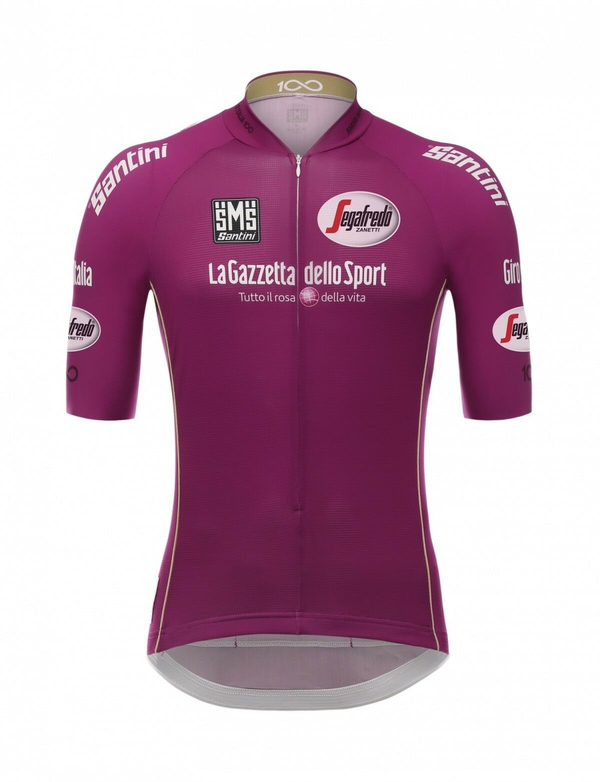 2017 GIRO D'ITALIA Point Leaders Ciclamen (Sprinter) Cycling Jersey by Santini