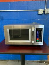 Waring Wmo90 Stainless Steel Commercial Microwave With Push Button Controls
