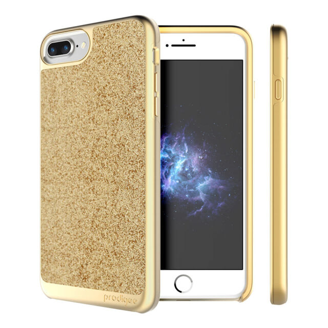 save off 6d0ea 5194d Prodigee Sparkle Gold iPhone 8 Plus 5.5